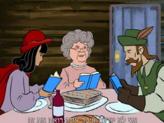 Tapuchips (snacks by Elite) Passover commercial animatic