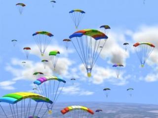 Caduronim snacks (Ossem): skydiving commercial