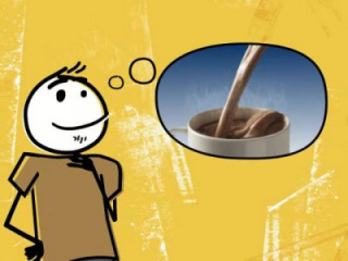 Tnuva's Shoko Shock (chocolate milk): warm it up commercial #1