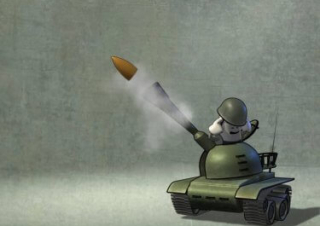 Toshiba TVs: Tank commercial