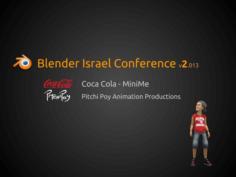 Blender CocaCola Presentation